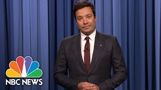 Jimmy Fallon In Emotional Charlottesville Monologue: 'We Can't Go Back' | NBC News - NBCNEWS