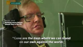 Stephen Hawking's most memorable statements - WASHINGTONPOST