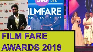 65th Jio Filmfare Awards South 2018 | Tollywood Winners List - RAJSHRITELUGU
