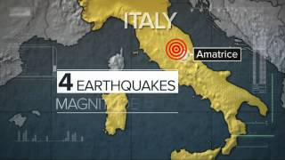 Four Strong Earthquakes Hit Central Italy - ABCNEWS