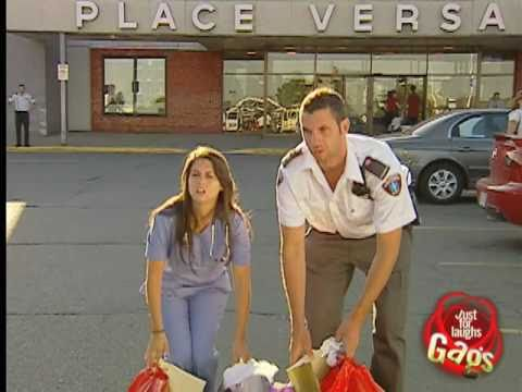 Shopping Paramedics Prank