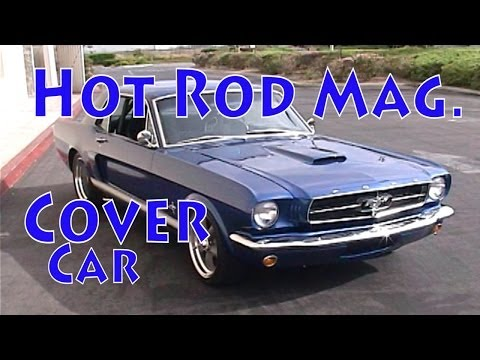 400 HP Hot Rod Magazine Cover Car.  1964 1/2 Mustang Street Test.  NRE TV Episode 216.