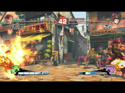 Super Street Fighter 4 IV AE PC Evil Ryu Playthrough + Secret Oni Boss fight 1/2