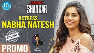 Actress Nabha Natesh Exclusive Interview - Promo || Talking Movies With iDream - IDREAMMOVIES