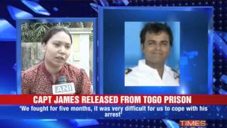 Capt. Sunil James released from prison - TIMESNOWONLINE