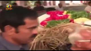 Governor ESL Narasimhan Mother's last Rites Completed in Hyderabad | Mango News - MANGONEWS