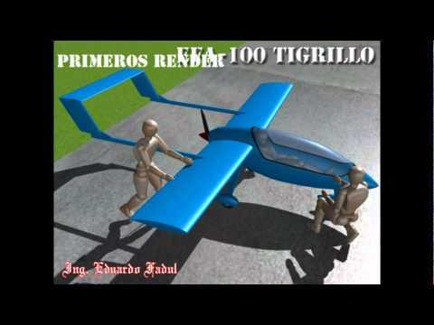 EFA-100 Tigrillo avion ultraliviano LSA