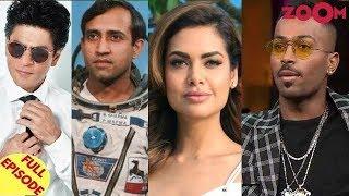 Shah Rukh Khan opts OUT of Rakesh Sharma biopic? | Esha Gupta on Hardik Pandya controversy & more - ZOOMDEKHO