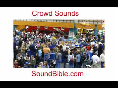 Crowd Sounds SoundBible
