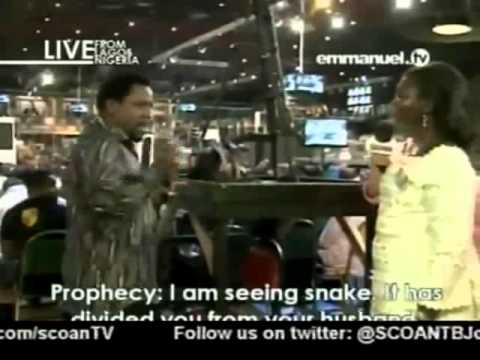 TB Joshua. Prayer & Prophecy 19 08 2012