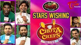 Jabardasth Stars | Venky Monkies, Karthik Wishing Chota Chefs - TELUGUONE