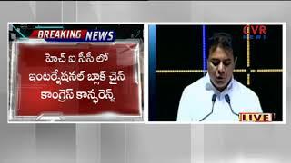 IT Minister KTR speech at International Blockchain Congress Technology Summit   Hyderabad   CVR NEWS - CVRNEWSOFFICIAL