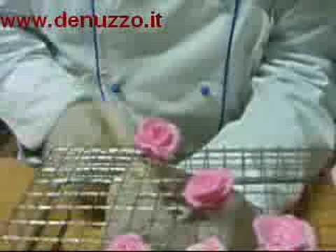 Fiori e rose in zucchero by Chocolaterie De Nuzzo