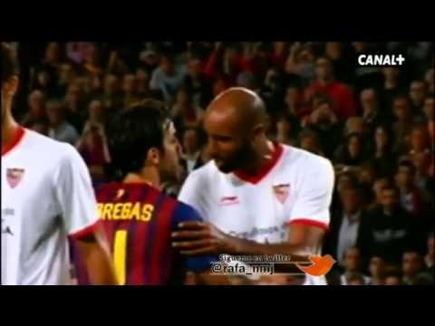 Fight Between Fabregas And Kanoute