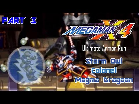 Mega Man X4 - Ultimate Armor Run Part 03 | Too Much Gaming