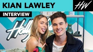 Kian Lawley Plays Heads Up with Anne Winters & Talks Dating Friends on 'Zac and Mia' | Hollywire - HOLLYWIRETV