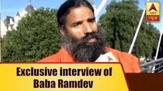 Baba Ramdev In An Exclusive Interview Says, Modi's Govt Some Programs Failed During Execution - ABPNEWSTV