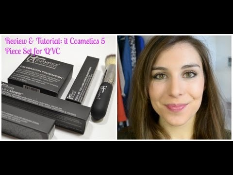 Review & Demo: it Cosmetics Hello Beautiful! 5 Piece Set