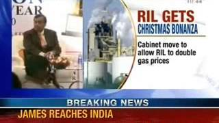 UPA government allow reliance to increase gas prices - NewsX - NEWSXLIVE
