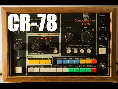 Roland CR 78 Sound Test