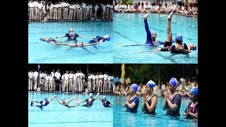 International Yoga Day: Pune girls showcase beautiful aqua yoga poses - TIMESOFINDIACHANNEL