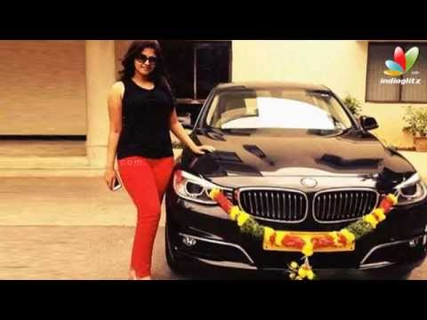 Actress Anjali's boy friend presents her a luxury car BMW | Hot Tamil Cinema News
