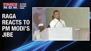 'Hugged PM Modi to remove hatred', says Congress President Rahul Gandhi - TIMESNOWONLINE