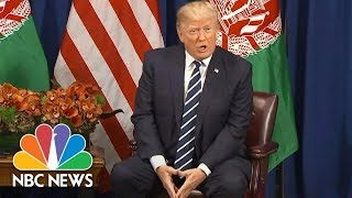 President Donald Trump Says More Sanctions Will Be Placed On North Korea | NBC News - NBCNEWS