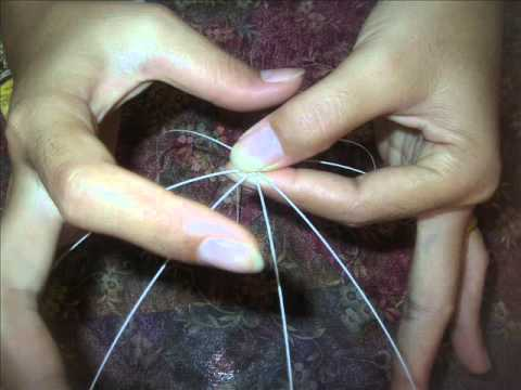 How to make stocking flower (Frangipani) by