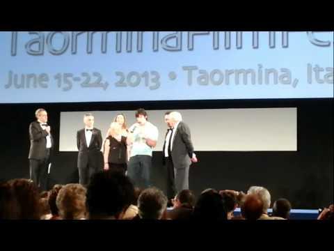 59° TaorminaFilmFest - Serata al Teatro Antico con Renata Latinova, Ron Moss e Gloria Guida