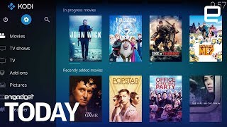 Hollywood strikes against illegal streaming Kodi add-ons | Engadget Today - ENGADGET