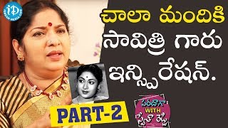 Actress Siva Parvathi Exclusive Interview - Part #2 || Saradaga With Swetha Reddy - IDREAMMOVIES