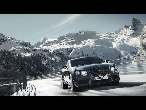 The Beautiful Alps vs Sports Car: James Bond Style