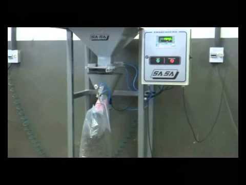 Ensacaderia Automática Por Gravidade SASA (Sacos Valvulados)