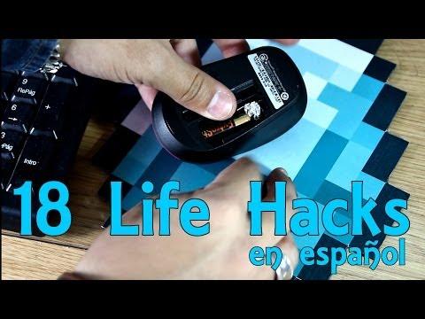 18 Life Hacks en español - Recopilación (Experimentos Caseros)