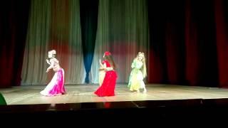 Дебют на сцене, коллектив танца МАЛИКА ДЕНС