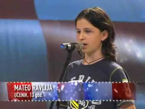 Supertalent - Mateo Ravlija - You Raise Me Up