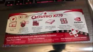 ????? : Toshiba Qosmio X770 Gaming Notebook