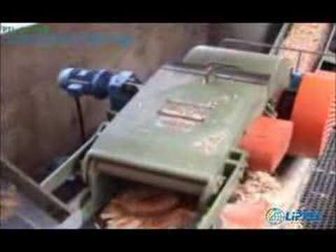 Picador de Cavaco PTL 200x500 picando Resíduos de Serrarias