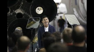 SpaceX says Japanese billionaire will be first private citizen on moon flight - NEWSXLIVE