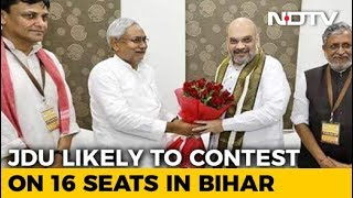 Nitish Kumar's 2019 Deal: 16 Seats For Him, 17 For BJP - NDTV