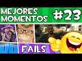 APM? - MEJORES MOMENTOS y FAILS [#23] elrubiusOMG, Vegetta777, Fernanfloo, NexxuzHD, Willyrex...