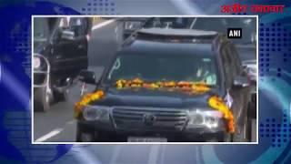 video : पीएम मोदी के साथ नेतन्याहू का ग्रैंड रोड शो