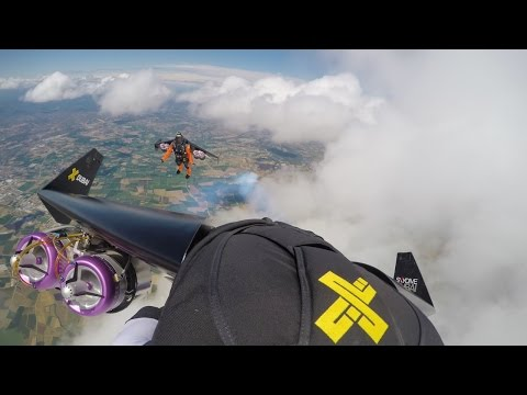 Playing with Clouds - Jetman 4K