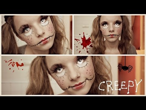 TUTO • Creepy Doll (poupée démoniaque) | Halloween