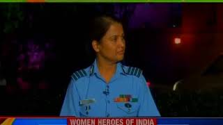 NewsX salutes to India's Women Heroes | Here's the tales of service and pride - NEWSXLIVE