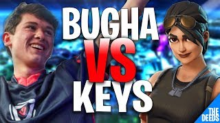 SEN Bugha 1 VS 1 Keys | Creative 1v1 *INSANE NA BUILD BATTLES*