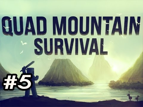 Minecraft: Quad Mountain Survival w/Nova Ep.5 - From The HEAVENS!