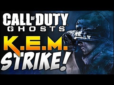 COD Ghosts: Gameplay/1st Commentary and K.E.M Strike!