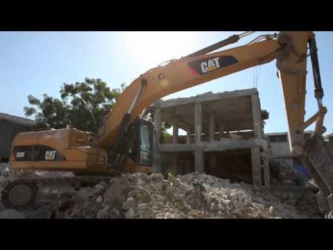 Haiti: Heavy Machinery Rubble Removal 2